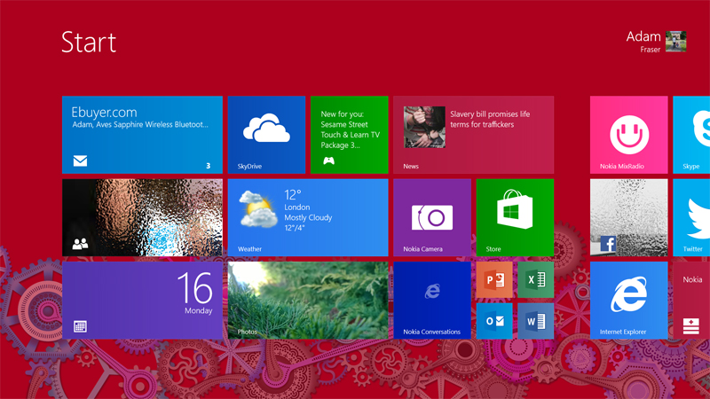 Nokia-Lumia-2520-Start-screen