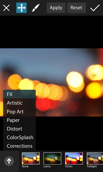 Effects for the PicsArt app for Windows Phone.